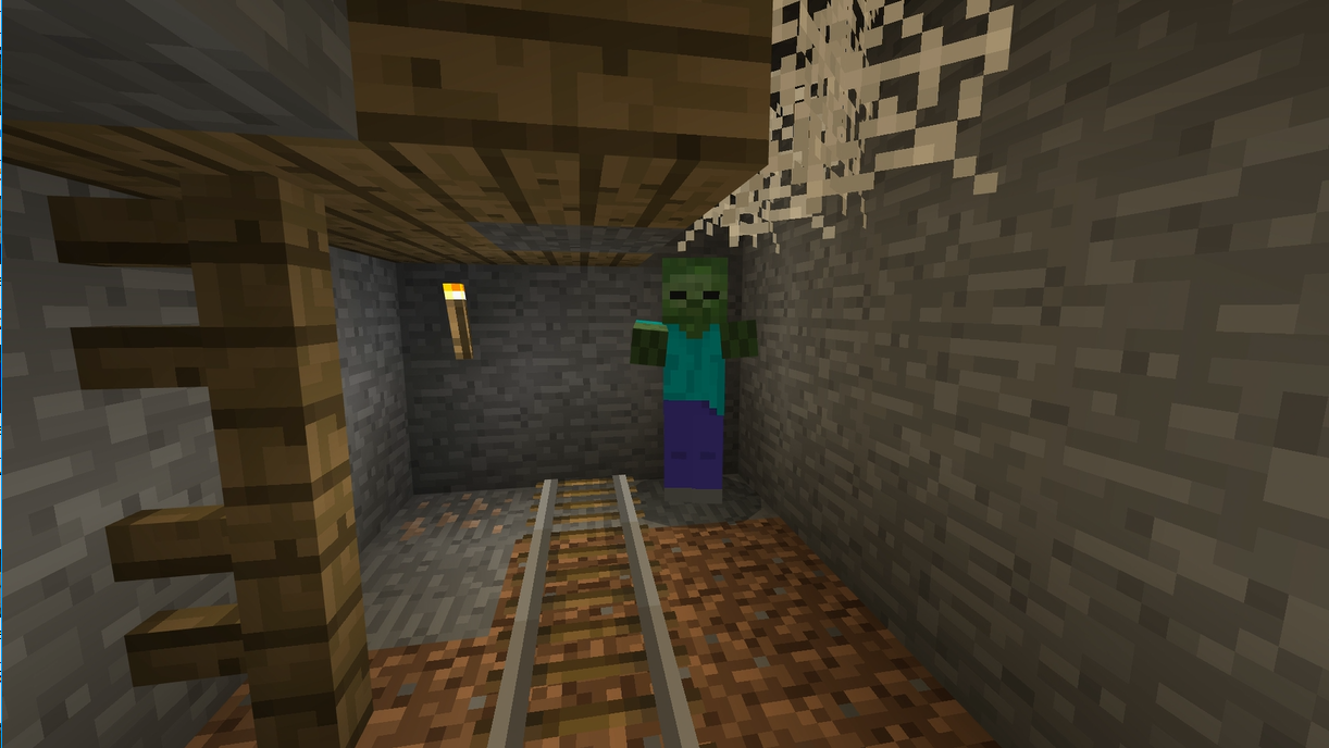 洞窟 迷子 マイクラ